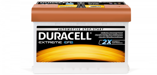 Duracell Extreme Efb The Ideal Battery For Medium Small Cars And Lcv That Have Only Basic Stop Start Features
